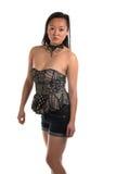Blusa senza spalline Fotografie Stock Libere da Diritti