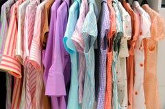 Blusas das mulheres Imagem de Stock