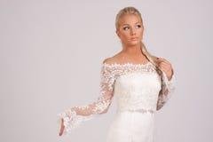blusbröllop Royaltyfria Bilder