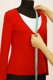 Bluse auf einer Attrappe Lizenzfreies Stockbild