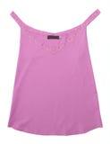 blusen snör åt den rosa skjortavesten Arkivfoto