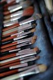 Blush. Many blush for make up Stock Image