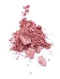 Blush. Crushed Pink Blush on white background Stock Images