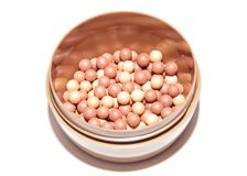 Blush balls Royalty Free Stock Images