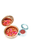Blush balls Stock Images