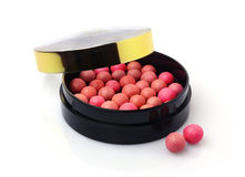 Blush balls in the box Royalty Free Stock Photo