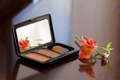 Blush in a box Royalty Free Stock Photography