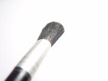Blush Brush. Makeup Blush Brush with isolated white background, high key image royalty free stock image