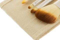 Blush Brush. Isolated on white background Royalty Free Stock Photo