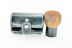 Blush on brush Royalty Free Stock Photography