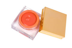 Blush cosmetic box Stock Images