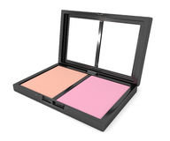 Blusher compact. Royalty Free Stock Photos