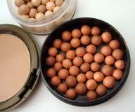blusher dużo różuje brązowego Fotografia Stock