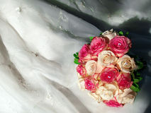 Blushing bouquet Royalty Free Stock Image
