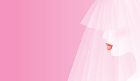 Blushing Bride Royalty Free Stock Photo