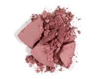 Blushon machacado - maquillaje Foto de archivo libre de regalías