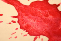 Blut Lizenzfreies Stockbild