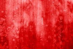 Blut befleckte Wand Stockfoto