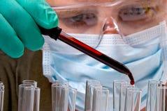 Blut-Probe Lizenzfreies Stockfoto