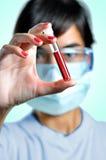 Blut-Probe Lizenzfreie Stockbilder