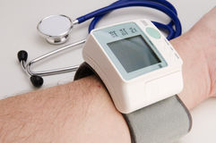 Blut ressure Meter Lizenzfreies Stockfoto