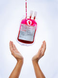 Blut-Spende Lizenzfreie Stockfotos