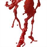 Blut-Spritzen Stockbild
