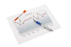 Blut Sugar Chart Stockbild