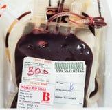 Blutbeutel Lizenzfreie Stockbilder