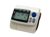 Blutdrucküberwachungsgerät Stockfotos