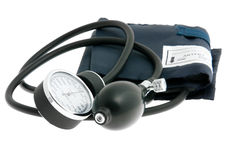 Blutdruck-Überwachungsgerät stockfotos