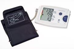 Blutdruck-Überwachungsgerätausschnitt Lizenzfreie Stockfotos
