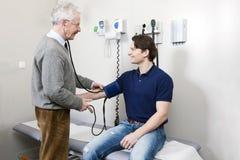 Blutdruck Stockbild