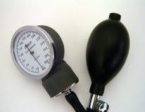 Blutdruck-Lehre Stockbilder