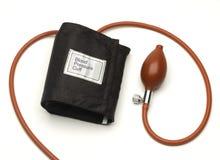 Blutdruck-Manschette Stockfotografie
