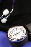 Blutdruck-Manschette Stockfotos