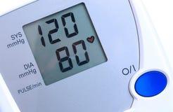 Blutdrucküberwachungsgerät Stockfoto