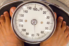 Blutdruckmessen Stockfotos