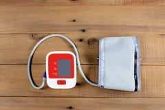 Blutdruckmonitor Lizenzfreie Stockfotos