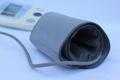 Blutdruckmonitor stockfoto