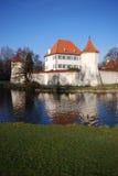Blutenburg (München) stockbild