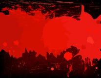Blutfleck- Hintergrund Lizenzfreie Stockfotografie