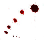 Blutflecken (Pfütze) lizenzfreies stockbild