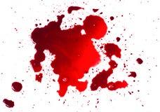 Blutflecken (Pfütze) stockfoto