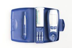 Blutglukoseüberwachungsgerät Lizenzfreies Stockfoto