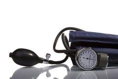 Bluthochdruckmaßhilfsmittel Stockfotografie
