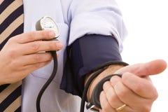 Bluthochdruckprüfung Lizenzfreies Stockbild