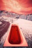 Blutige Badewanne Lizenzfreies Stockfoto