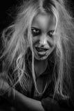 Blutige blonde Hexe Lizenzfreie Stockfotografie