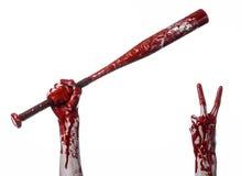 Schläger blutsport mörder zombies halloween thema stockbilder